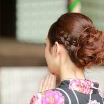 浴衣に合う髪型【ロング】を簡単に!自分で出来て崩れにくいアレンジは?