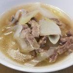 コストコのミスジ焼肉用であったかスープ♪簡単レシピ紹介