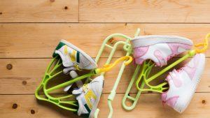 運動靴を早く乾かす方法・コツは?洗濯乾燥機で乾かしても大丈夫?