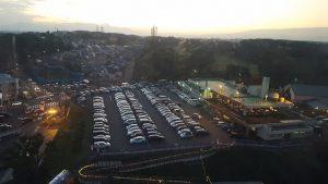 よみうりランドの駐車場混雑、イルミネーション時期は?時間は何時まで?