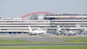 羽田空港第一ターミナル駐車場のナビ入力の仕方。住所とP1、P2について